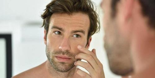 Места появления морщин у мужчин